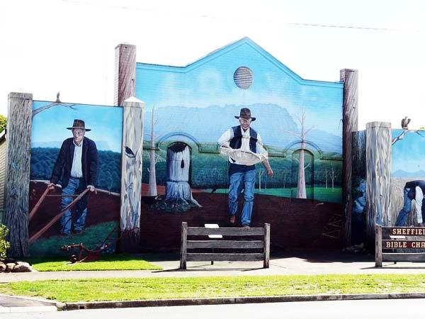 perierga.gr - Sheffield: Η πόλη των τοιχογραφιών!