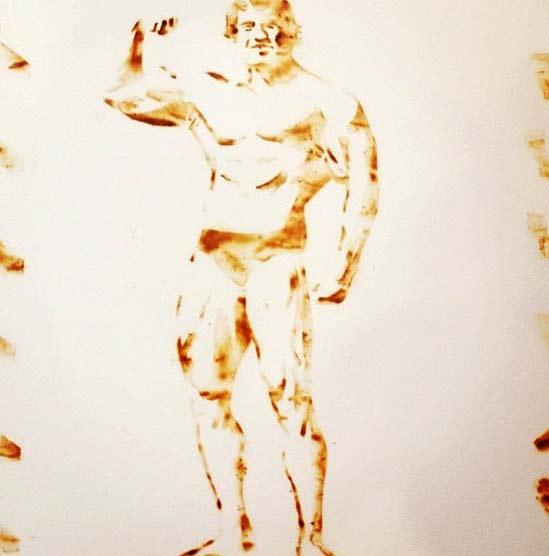 perierga.gr - Δημιουργεί έργα τέχνης με... καπνό μαριχουάνας!