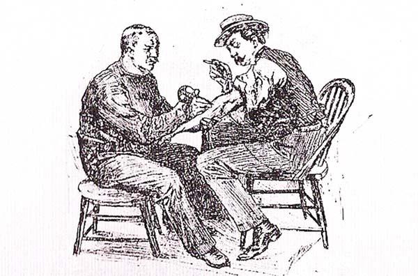 perierga.gr - Ο Έντισον και η σχέση του με το τατουάζ!