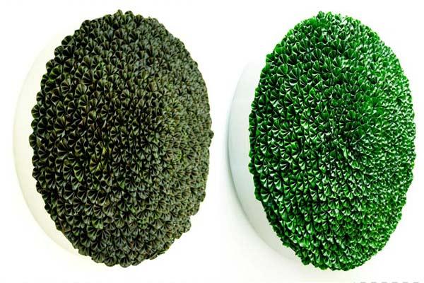"perierga.gr - ""Φυτικά"" γλυπτά με φύλλα και βρύα!"