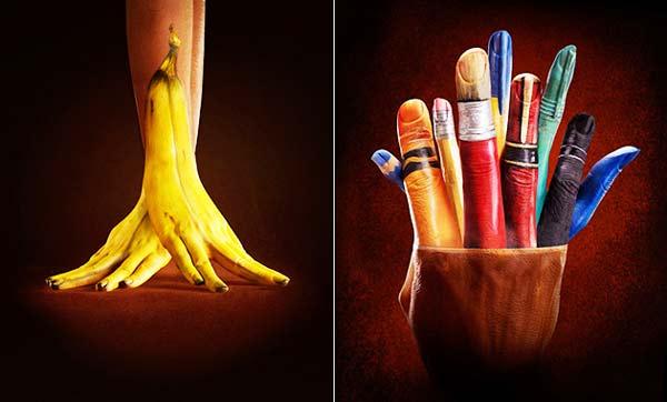 Παίζοντας τη ζωγραφική στα... δάχτυλα!