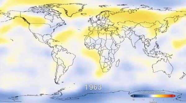 perierga.gr - Η αύξηση της θερμοκρασίας από το 1880 ώς σήμερα!