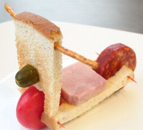 perierga.gr - Η δημιουργική τέχνη του σάντουιτς!