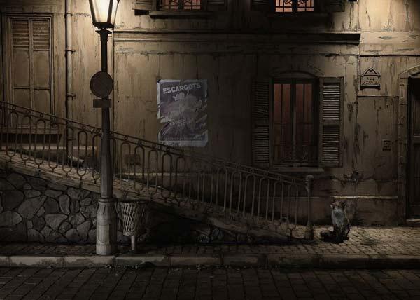perierga.gr - Αστικές γειτονιές από χάρτινα κουτιά!