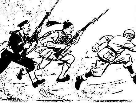 Γελοιογραφίες για τον πόλεμο του 1940