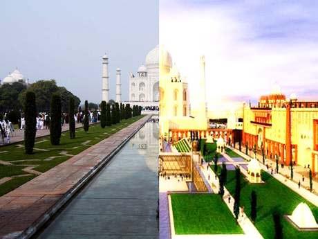Αντίγραφο του Ταζ Μαχάλ στο Ντουμπάι!