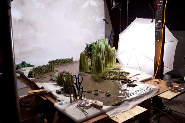 Απίθανες φωτογραφίσεις τοπίων στο στούντιο!!!