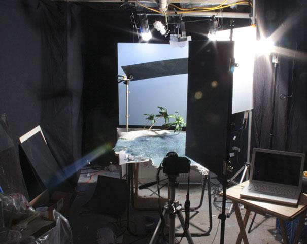perierga.gr - Απίθανες φωτογραφίσεις τοπίων στο στούντιο!!!