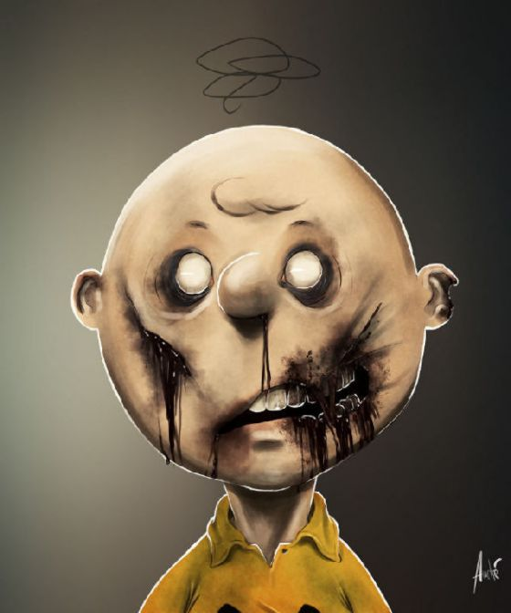 "perierga.gr - Δημοφιλή καρτούν ""μεταμορφώνονται"" σε ζόμπι!"