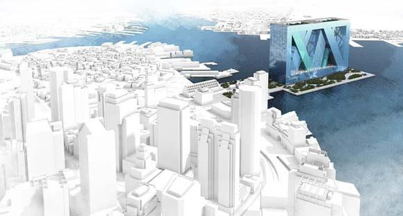 "perierga.gr - Η κάθετη ""πλωτή"" πόλη του μέλλοντος!"