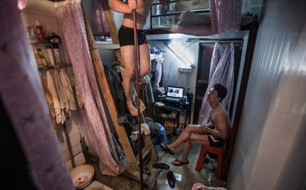 perierga.gr - Capsule Room: Συγκατοίκηση σε 4 τετραγωνικά!