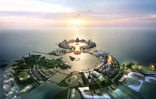 perierga.gr - 8City: Ένα νησί-πολυτελές θέρετρο θα κάνει θραύση!