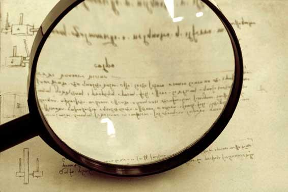 Το παράξενο γράψιμο του Λεονάρντο ντα Βίντσι!