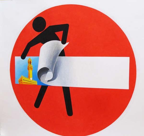 perierga.gr - Οι πινακίδες οδικής σήμανσης γίνονται χιουμοριστικά έργα τέχνης!