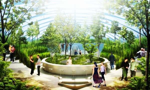 "perierga.gr - Ένας ""αμφίβιος"" κήπος καθαρίζει τα μολυσμένα ύδατα!"