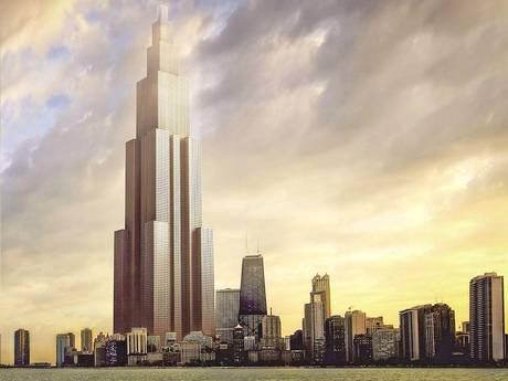 Perierga.gr - Ουρανοξύστης 838 μέτρων μέσα σε… τρεις μήνες!