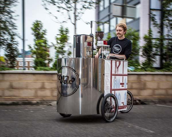 "perierga.gr - ""The Velopresso"": Ένα εσπρέσο μπαρ σε ποδήλατο!"