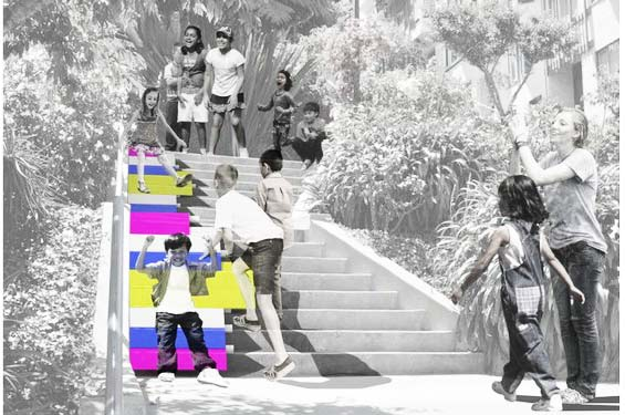 perierga.gr - Σκαλοπάτια μεταμορφώνονται σε... μουσική τσουλήθρα!