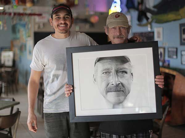 Εντυπωσιακό πορτρέτο με 2,1 εκατομμύρια κουκίδες!