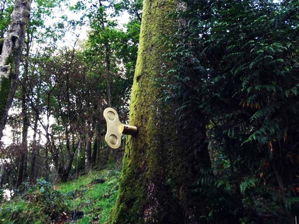 perierga.gr - The Clockwork Forest: Δέντρα που παίζουν μουσική!