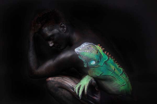 perierga.gr - Ανθρώπινα σώματα μεταμορφώνονται σε ζωντανά αριστουργήματα!