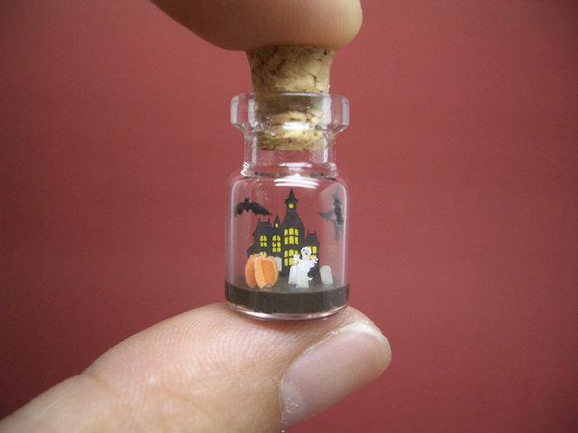 perierga.gr - Εντυπωσιακοί μικρόκοσμοι μέσα σε μπουκάλια!
