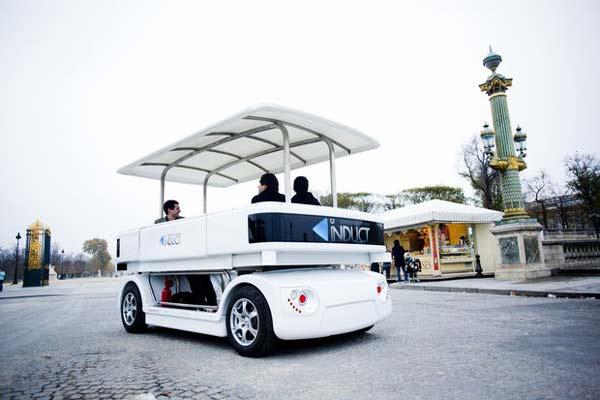 perierga.gr - Κατασκευάστηκε το πρώτο λεωφορείο χωρίς οδηγό!