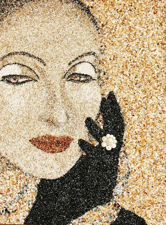 perierga.gr - Θαλασσινά... έργα τέχνης με κοχύλια και άμμο!