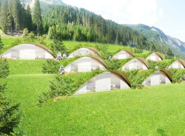 perierga.gr - Bella Vista Hotel: Ένα απίθανο ξενοδοχείο μέσα στο έδαφος!