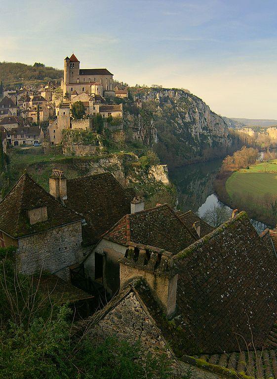 perierga.gr - Saint-Cirq lalopie: Ένα αριστούργημα μεσαιωνικής αρχιτεκτονικής!