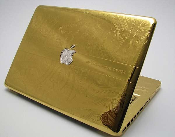 "perierga.gr - Το ""άγγιγμα του Μίδα"" στο MacBook!"