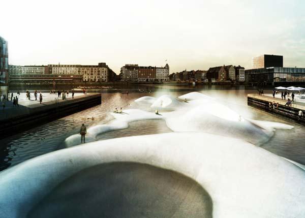 perierga.gr- Το ολοκαίνουργιο μαγικό λιμάνι της Κοπεγχάγης!