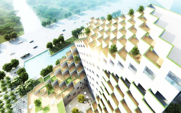 perierga.gr - Φουτουριστικό κτήριο με ασυνήθιστο design!