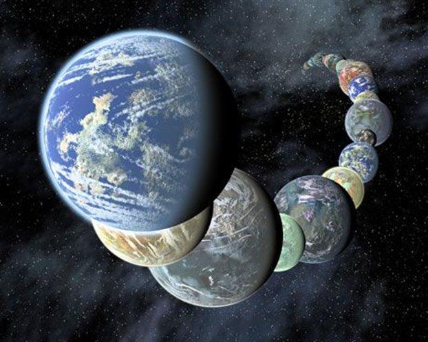 Perierga.gr - Τουλάχιστον 100 δισ. πλανήτες στον Γαλαξία