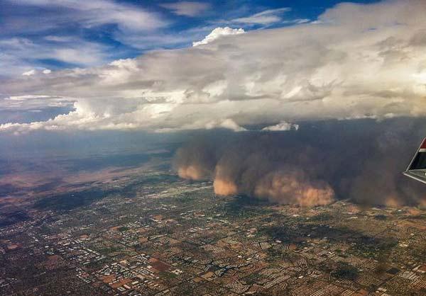 Απειλητικές αμμοθύελλες πάνω σε πόλεις του κόσμου!