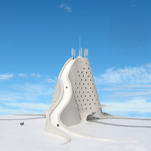 perierga.gr - Απίθανο ξενοδοχείο-χιονοδρομικό κέντρο!