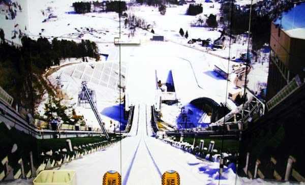 perierga.gr - Τουαλέτα με... προοπτική πίστας σκι!