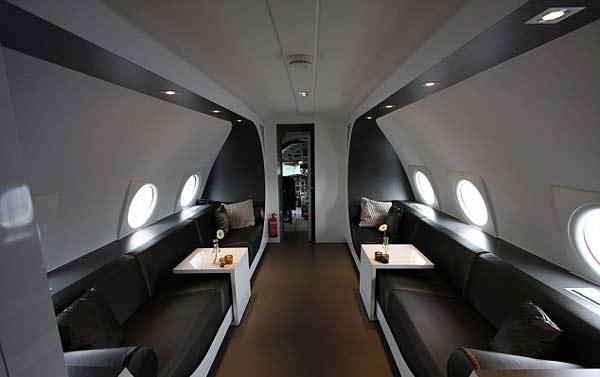 "perierga.gr - Παλιό αεροπλάνο ¨μεταμορφώνεται"" σε ξενοδοχείο υπερλούξ!"