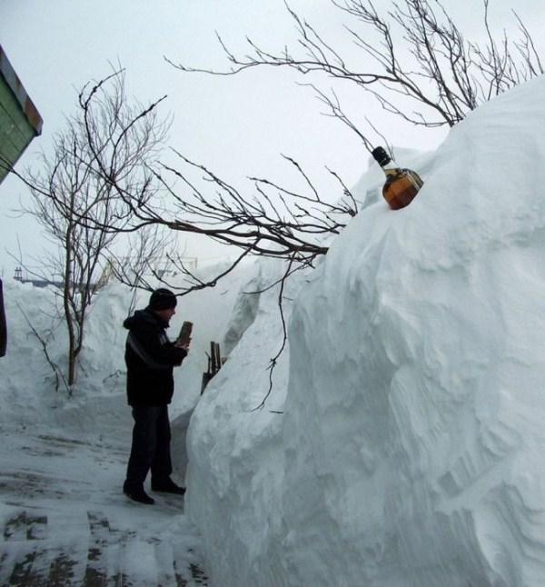 Perierga.gr - Ο χειμώνας στη Ρωσία είναι πραγματικά βαρύς