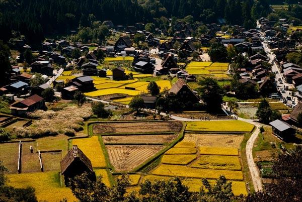 "perierga.gr - Τα εκπληκτικά ""αλπικά χωριά"" της Ιαπωνίας!"