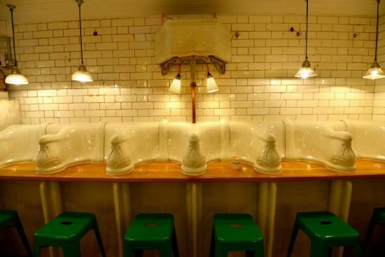 perierga.gr - Εκκεντρικό εστιατόριο σε... δημόσιες τουαλέτες!