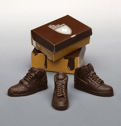 Perierga.gr - Παπούτσια από σοκολάτα!