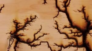 perierga.gr - Τι συμβαίνει όταν 15.000 βολτ διαπερνούν το ξύλο;