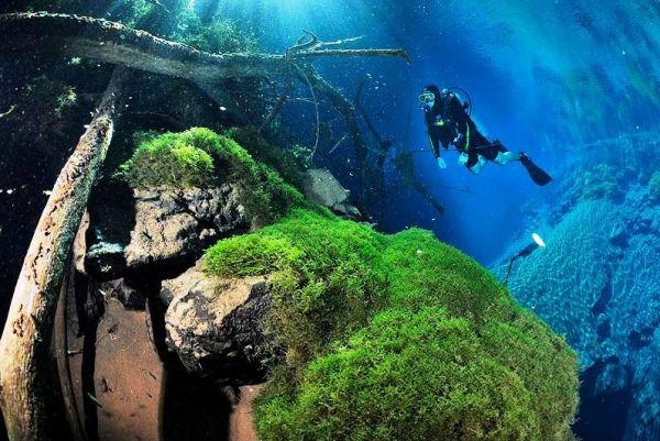 perierga.gr - Η μαγευτική ομορφιά μιας... μυστηριώδους λίμνης!