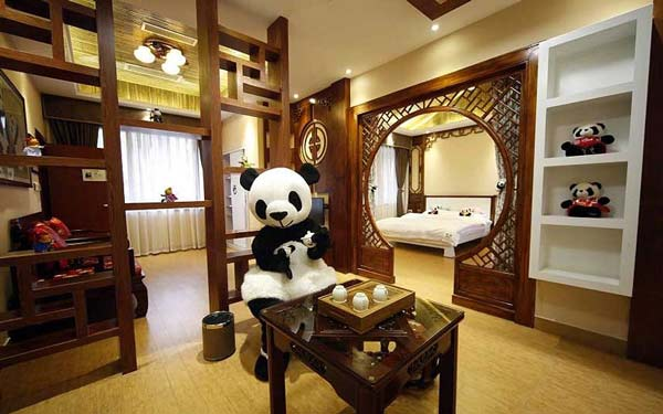 perierga.gr - Panda Hotel: Ξενοδοχείο για τους λάτρεις των... πάντα!