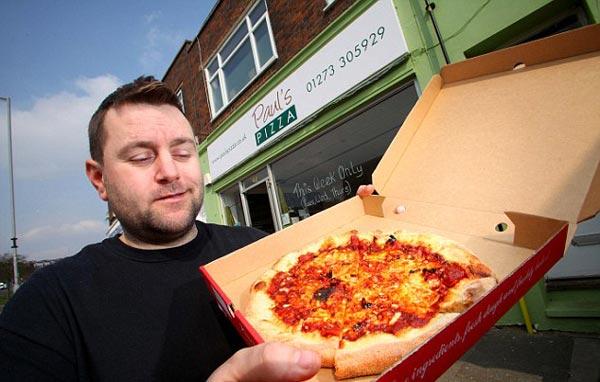 perierga.gr - Η πιο καυτή πίτσα του κόσμου... σκέτος δυναμίτης!