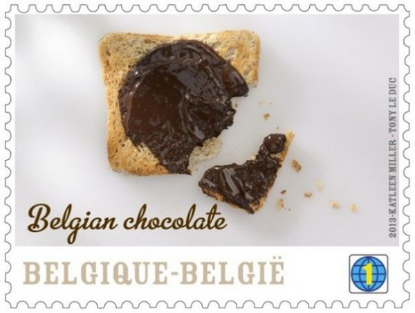 perierga.gr - Γραμματόσημα με γεύση... σοκολάτας!