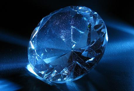 Perierga.gr - Σπάνιο μπλε διαμάντι βρέθηκε σε ορυχείο της Ν. Αφρικής