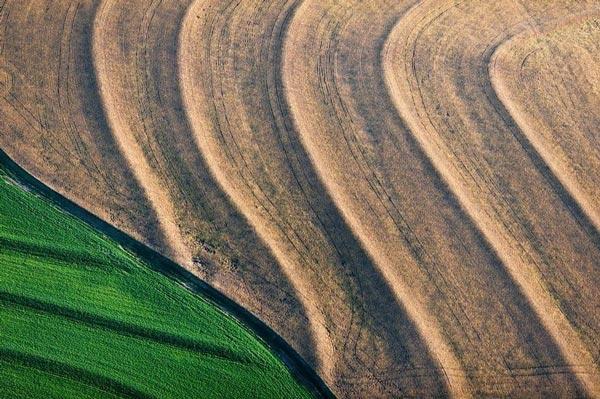 perierga.gr - Εκπληκτικά χωράφια από ψηλά!