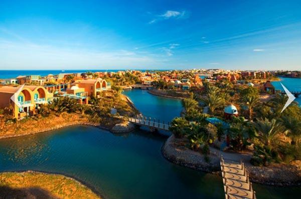 perierga.gr - El Gouna: Η Καραϊβική στο κέντρο της... ερήμου!